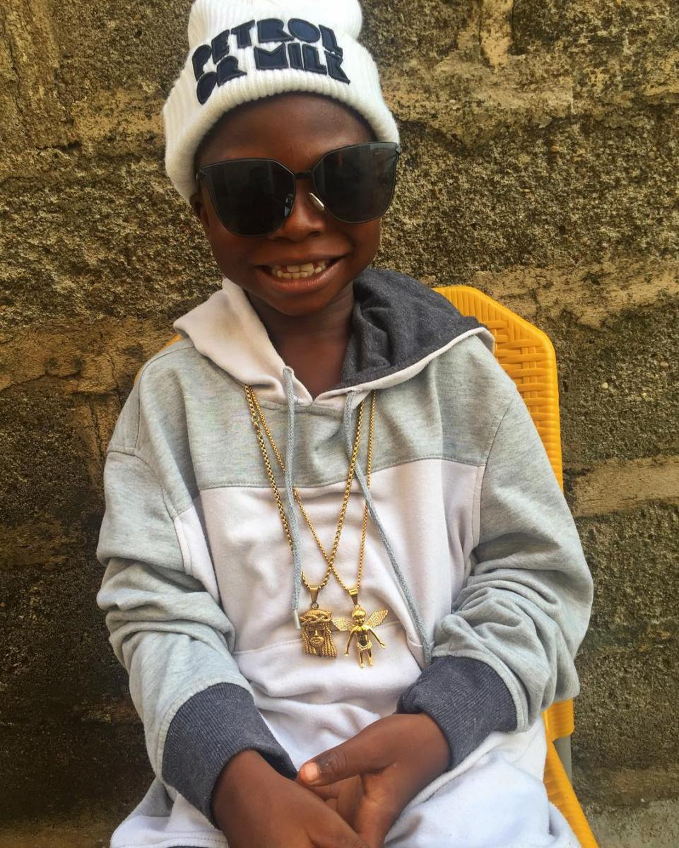9yrs Old Boy Who Wants To Be a Yahoo Boy, Segun Wire Allegedly Gets Endorsement Deal