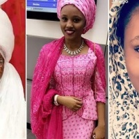 Emir of Kano's New 19-year-old wife, Saadatu Lamido