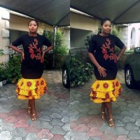 Short Ankara Dresses: Playful And Trendy