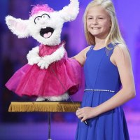 12-year-old girl blows away the America's Got Talent judges with her incredible ventriloquism act that saw her singing with her mouth CLOSED