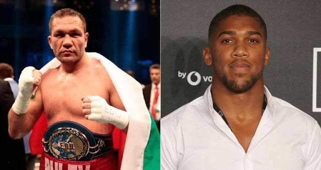 9d27da4d6 Anthony Joshua to fight Kubrat Pulev on October 28 in Cardiff for IBF & WBA  heavyweight world title