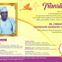 Biography Of PA Christopher Olusegun Adebayo Ogunba.