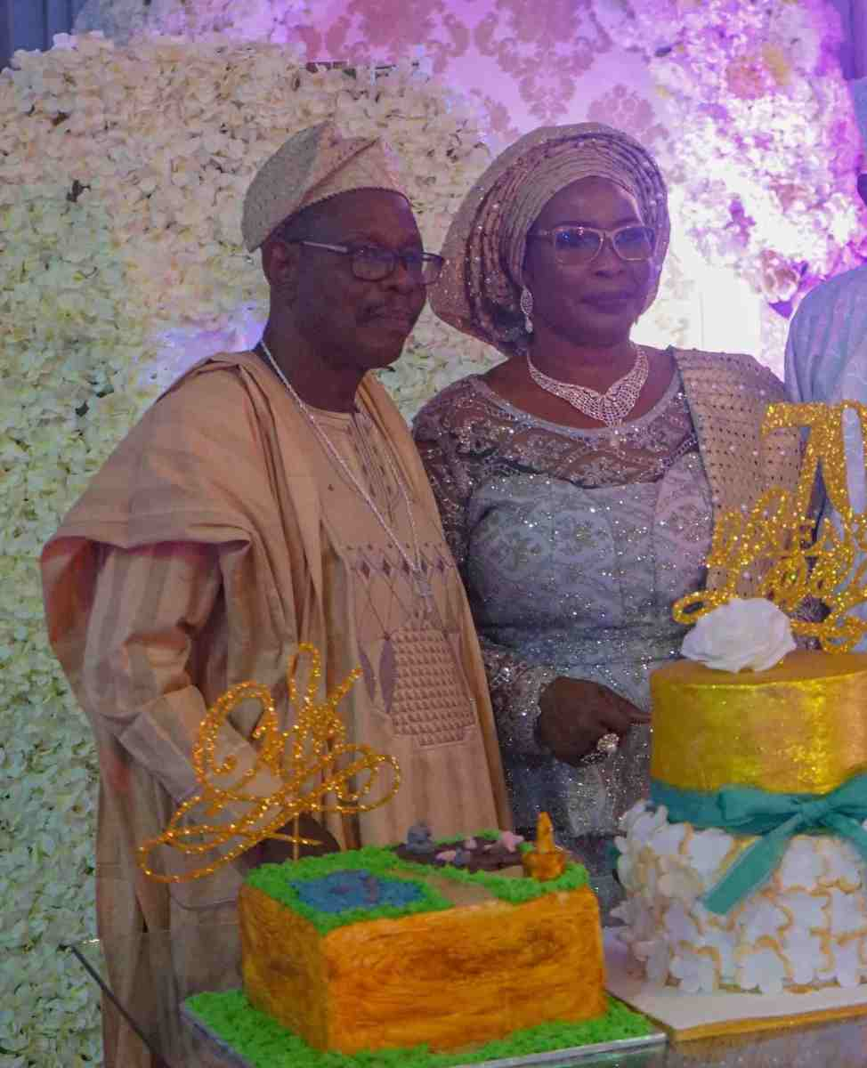 The 70th Birthday Party Of Mr Samuel Okanlawon Odebiyi @ The Prestigious Grandeur Event Center Lagos