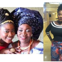 Mercy Johnson loses mom