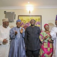 Kayode Fayemi: Ekiti Governor-Elect Celebrates With Governors After His Victory (Photos)