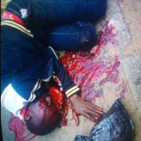 Tension as man is assassinated in broad daylight in Ekiti state (graphic photos)