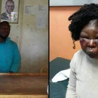 Man arrested for beating his wife to a pulp over food (Photos)
