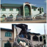 Yinka Ayefele's N800m Music House Was Demolished In Ibadan