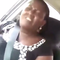 Uber driver tackles female passenger over refusal to greet him