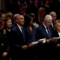Trump refused to recite 'the Apostle Creed' at Bush funeral