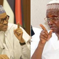 Prof. Ango Abdullahi, has denied being involved in the reported plot to remove President Buhari