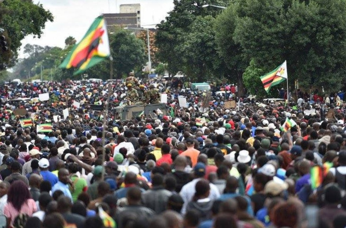 Zimbabwe Protests: Again, Workers Insist On Dollar Payment, Reject Wage Increase