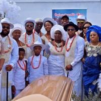 Hon. Ovie Emeofa gave father in law a befitting burial.
