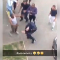 White Man Who Accuses Nigerian Man Of Theft In South Africa Got Serious Slap - Video G9ijaTV