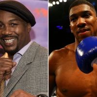 You're a clown, Anthony Joshua attacks Lennox Lewis