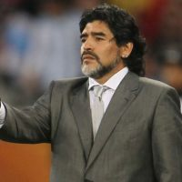 Diego Maradona's managerial return ends in defeat