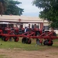 ICPC deliver tractors recovered from ex-Senator to beneficiaries