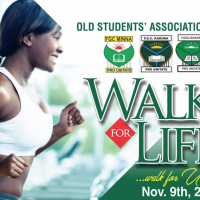 WALK FOR LIFE - A Collaboration With FGC Minna, FGC, Kaduna & FGGC Bakori Old Students' Association. 9th-Nov-19