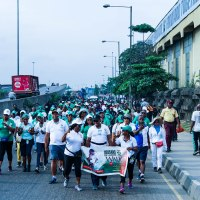 USOSANS In Lagos- Walk For Life @The National Stadium Surulere